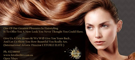 NEW $89 Keratin Straintening Treatment only available at LETOILE Elite Sydney CBD